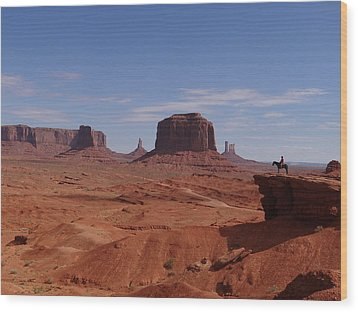 John Ford's Point In Monument Valley Wood Print by Keith Stokes