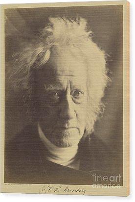 John Frederick William Herschel 1867 Wood Print by Getty Research Institute