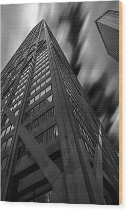John Hancock Building 73a7300 Wood Print by David Orias