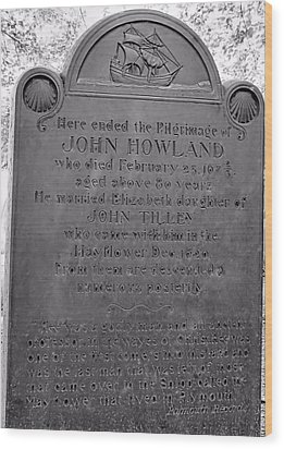 John Howland Wood Print by Janice Drew
