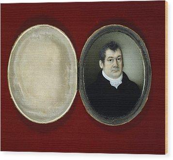 John Reeves, British Naturalist Wood Print by Science Photo Library