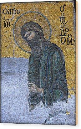 John The Baptist Wood Print by Stephen Stookey