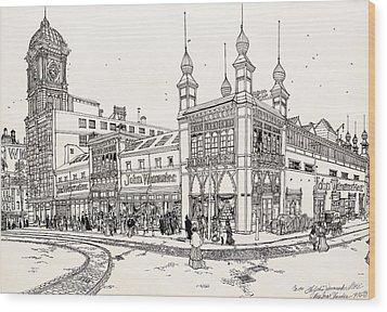 John Wanamaker's Grand Depot Wood Print by Ira Shander