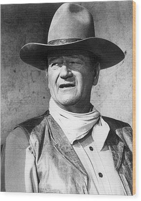 John Wayne In Rio Lobo  Wood Print