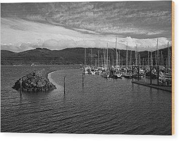 John Wayne Marina Wood Print