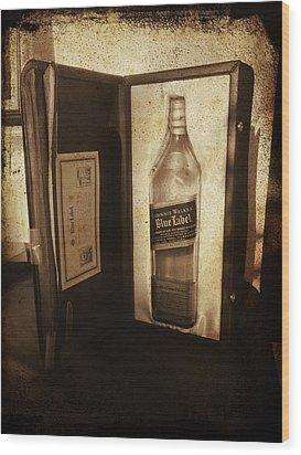 Johnnie Walker - Still Going Strong Wood Print