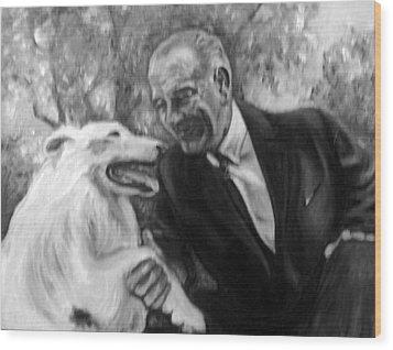 Johnson And Blanco Wood Print by Martha Suhocke