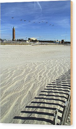 Jones Beach Tower New York Wood Print