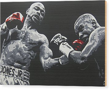 Jones Jr Vs Trinidad Wood Print