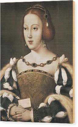 Joos Van Cleve 1485-1541. Eleanor Wood Print by Everett