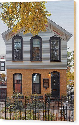 Joseph J O'connell House Chicago Wood Print by Christine Till