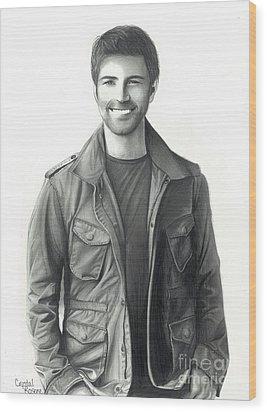 Josh Turner Wood Print