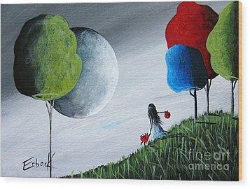 Journey Home By Shawna Erback Wood Print by Shawna Erback