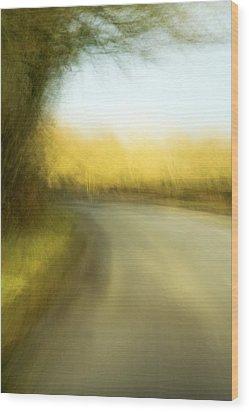 Journey Wood Print by Natalie Kinnear
