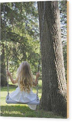 Joy Of Childhood II Wood Print