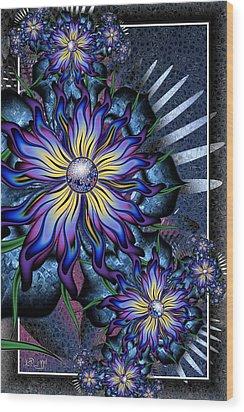 Joyful Julia Wood Print
