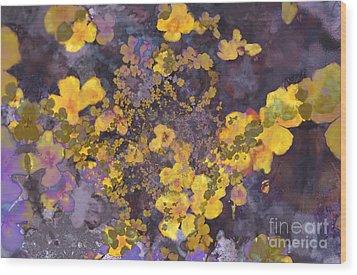Joyous Meadow 2 Wood Print