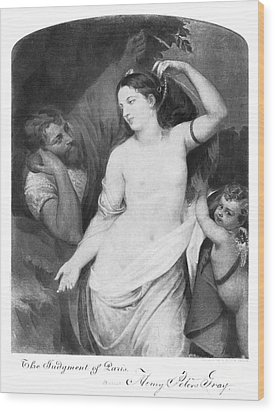 Judgement Of Paris Wood Print by Granger