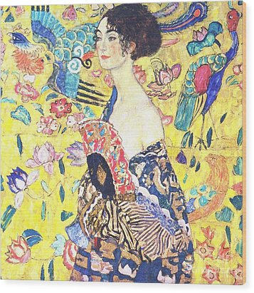 Judith 2 By Gustav Klimt Wood Print by Pg Reproductions