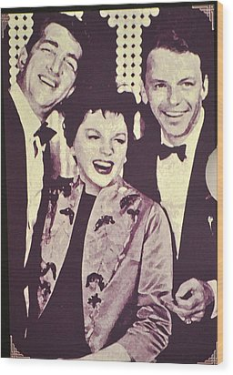 Judy Garland And Friends Wood Print