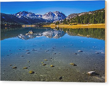 June Lake California Wood Print