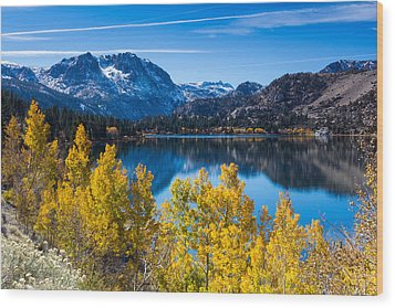 June Lake Wood Print