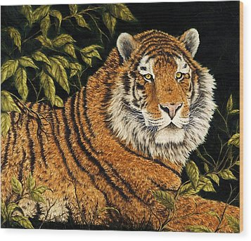 Jungle Monarch Wood Print by Rick Bainbridge