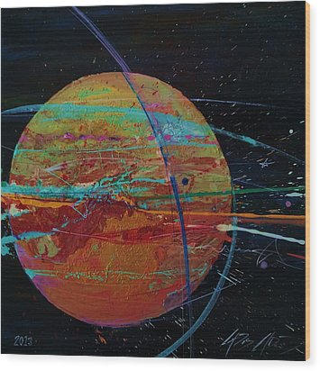 Jupiterlicious Wood Print by Chris Cloud