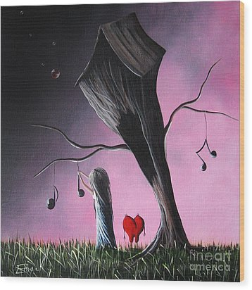 Just A Little Love Song By Shawna Erback Wood Print by Shawna Erback