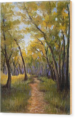 Just Before Autumn Wood Print by Susan Jenkins
