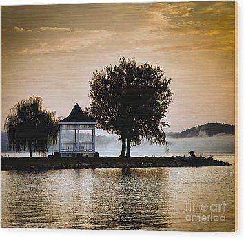 Just Before Sunrise Wood Print