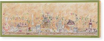 Just Desserts Wood Print by John Keaton