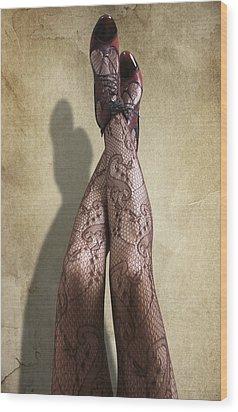 Just Legs Wood Print by Svetlana Sewell