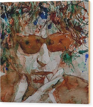 Just Like A Woman Wood Print by Paul Lovering