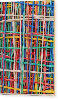 Just Strings Attached I Wood Print by Shawn Hempel