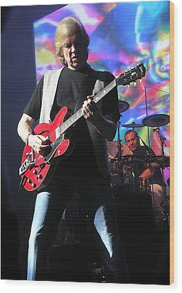 Justin Hayward Of The Moody Blues Wood Print