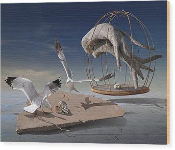 K204 Wood Print by Radoslav Penchev