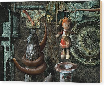 K80 Wood Print by Radoslav Penchev