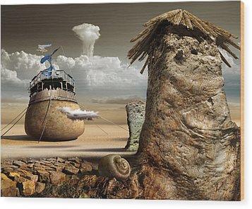 K90 Wood Print by Radoslav Penchev