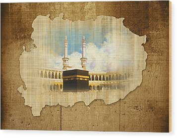 Kabah Wood Print by Catf