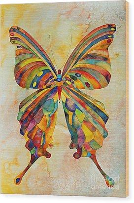 Kaleid Wood Print by Shannan Peters