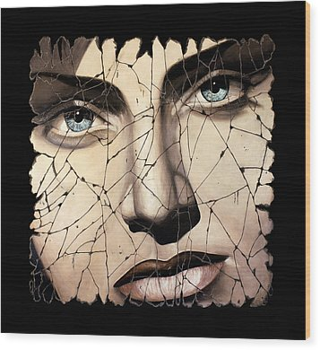 Kallisto Wood Print by Steve Bogdanoff