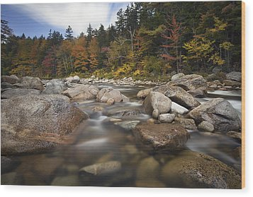 Kanc Colors Wood Print by Eric Gendron
