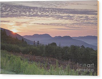 Kancamagus Highway - White Mountains New Hampshire Usa Wood Print