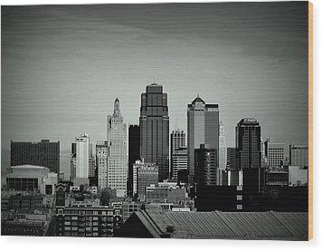 Kansas City  Wood Print