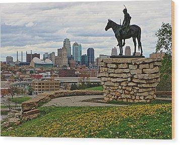 Kansas City Scout Wood Print