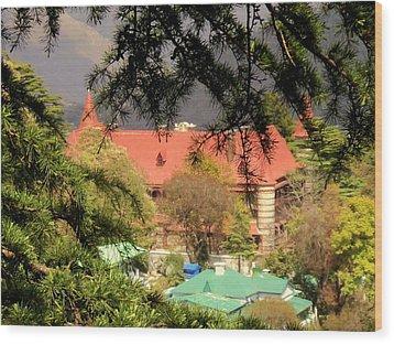 Kapurthala Palace Mussoorie Wood Print by Salman Ravish