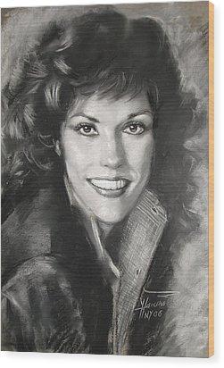 Karen Carpenter Wood Print