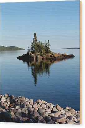 Karin Island - Photography Wood Print