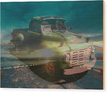 Karma Cruiser Wood Print by Laureen Murtha Menzl